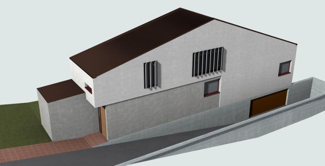 Cinco viviendas en Santa Ana de Abuli